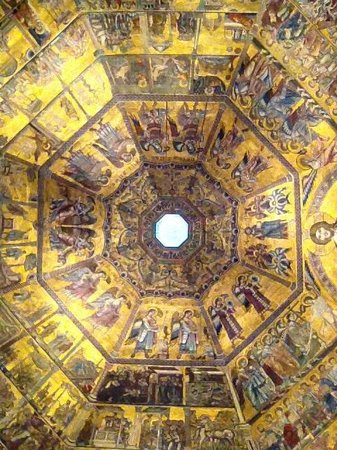 Baptistery of San Giovanni (Battistero) : Inside the Baptistry dome...exquisite!