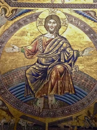 Baptistery of San Giovanni (Battistero) : Inside the Baptistry dome...detail