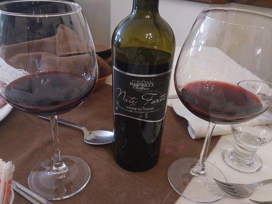 La Cantina della Suocera : Uno dei vini