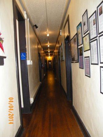 Cassadaga Hotel: hall