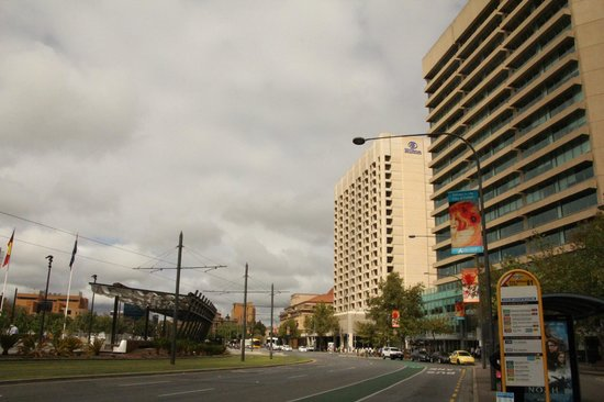 Hilton Adelaide: From the main drag