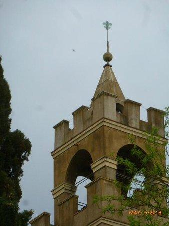 Castello di Montegufoni : THE TOP OF THE CASTLE