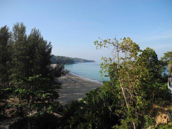 Pullman Phuket Arcadia Naithon Beach: view from our room