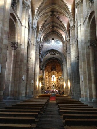 Basilica de San Vicente : Basílica de San Vicente