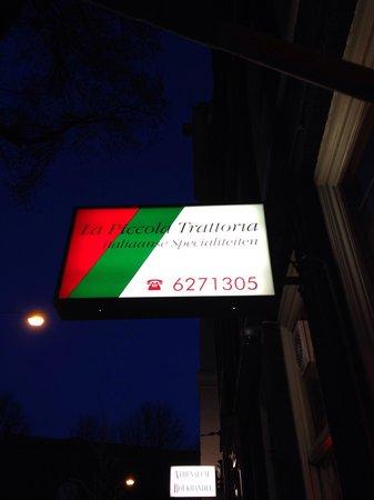La Piccola Trattoria Da Tonino: Restaurant sign