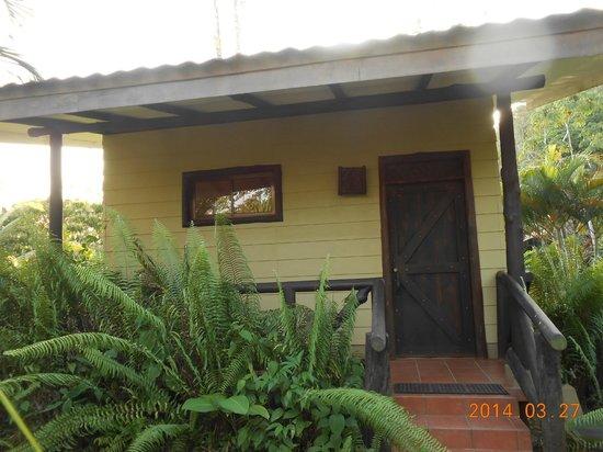 Maquenque Eco-Lodge: Toucan front door...