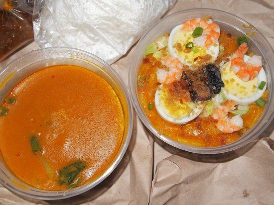 Lola Idang's Pancit Malabon: meal