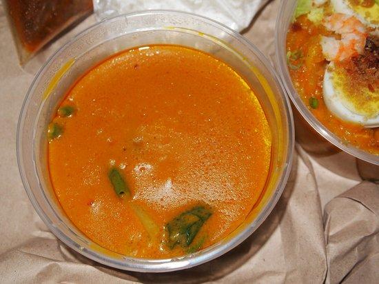 Lola Idang's Pancit Malabon: Kare-Kare with rice