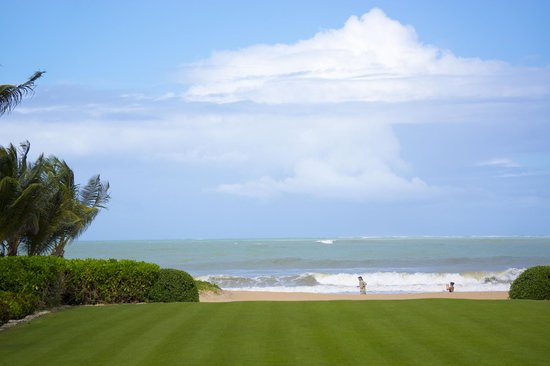 The St. Regis Bahia Beach Resort : View from the clubhouse