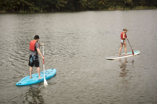The St. Regis Bahia Beach Resort, Puerto Rico : Stand-up paddle boarding