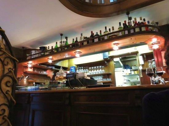 Al Vecio Canton : the bar