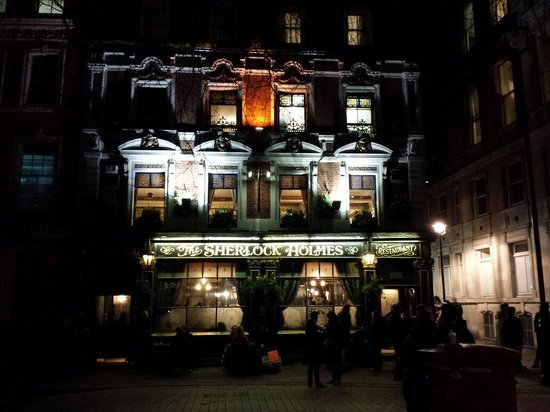 The Sherlock Holmes Public House & Restaurant : The Sherlock Holmes un samedi soir