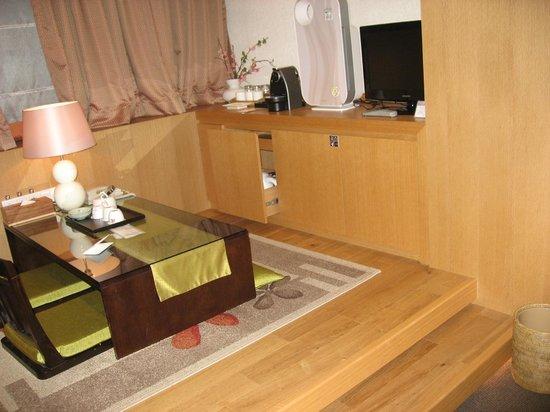 Hotel PJ Myeongdong: 居間