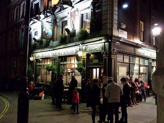 The Sherlock Holmes Public House & Restaurant : The sherlock Holmes