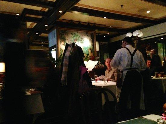Interior of Old Ebbitt Grill