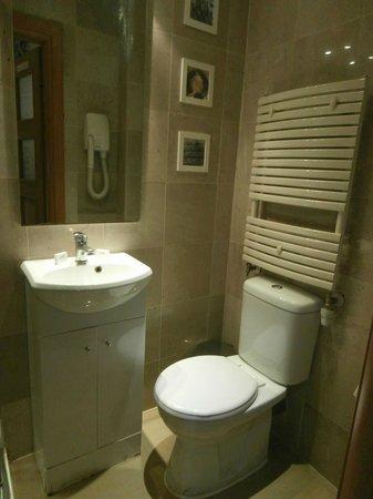 Hyde Park Suites : Lavandino + servizi