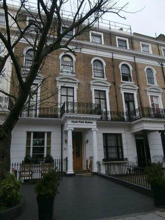 Hyde Park Suites: Il nostro balcone