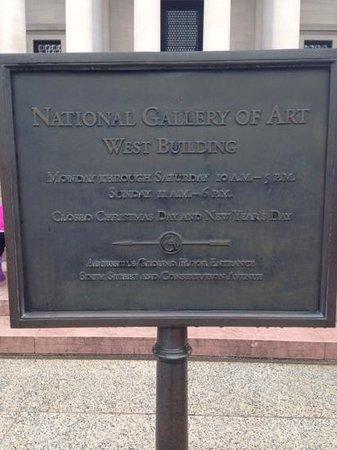 National Gallery of Art: ワシントンナショナルギャラリー