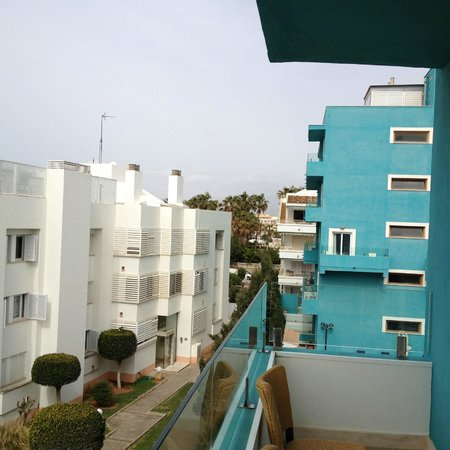 Hotel UR Portofino: Uitzicht vanaf balkon