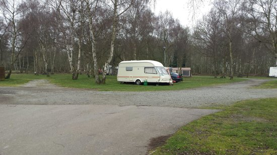 Wild Duck Holiday Park - Haven: Our pitch
