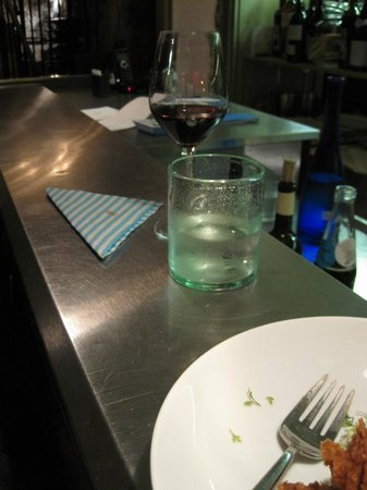 Verjus : Largest water glass in Paris