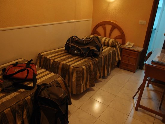 Hostal la Perla Asturiana: ツインルーム