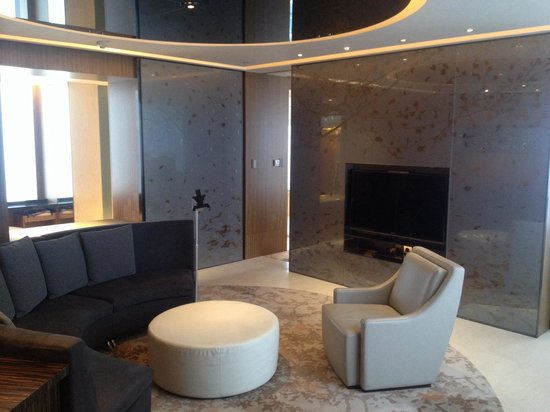 Hotel ICON: Our 26th floor Suite lounge