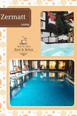 Hotel Alpenhof: Amazing Indoor and outdoor pools