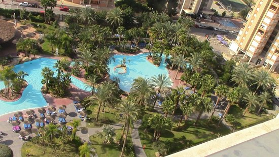 Melia Benidorm: this was the view from our room