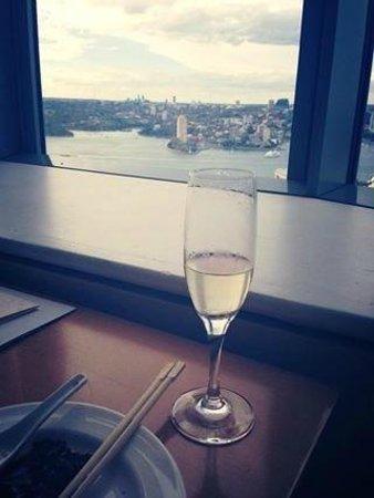 Shangri-La Hotel Sydney : Champagne - Horizon Club Lounge