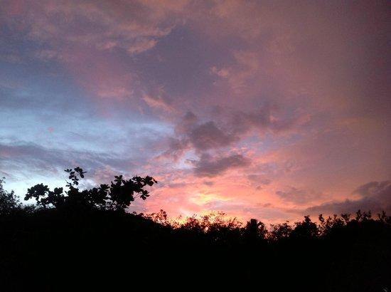 AmAya Spa: Sunset in Langkawi
