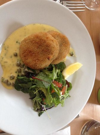 Smoked haddock fish cake picture of table 8 beeston for Table 8 beeston
