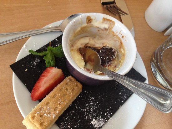 Our dessert forgot to take photo before start diving into for Table 8 beeston