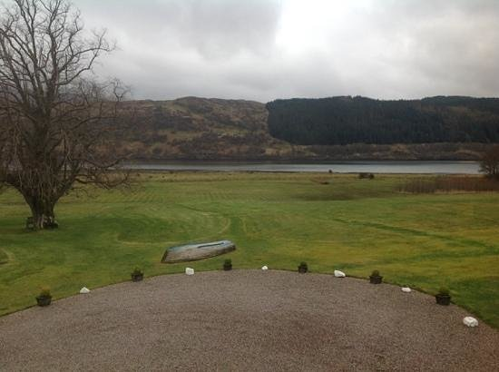Kilcamb Lodge Hotel & Restaurant : view from the bedroom