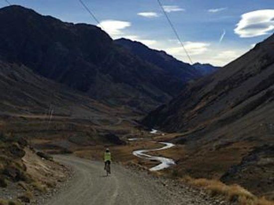 Molesworth High Country Tours: ..or downnhill!