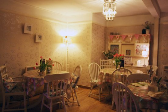 Bay Tree Tea Room/Restaurant: Tea cup room