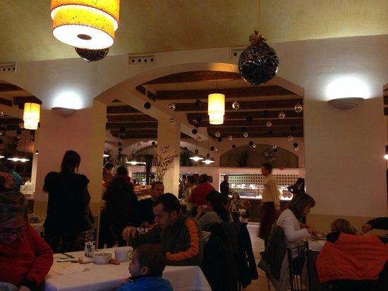 PortAventura Hotel PortAventura: El navideño comedor