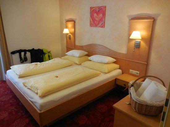 Hotel Die Barbara: Schlafzimmer der Juniorsuite