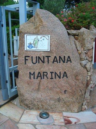 Funtana Marina : Portail d'entrée
