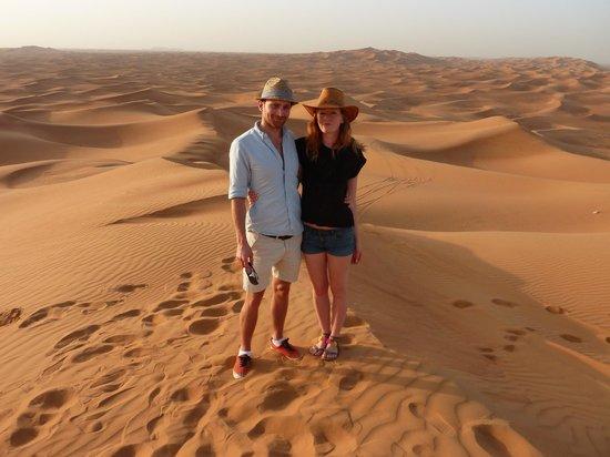 Desert Safari Dubai : Us in the desert