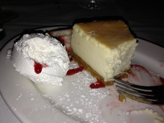 Benjamin Steakhouse: Cheesecake