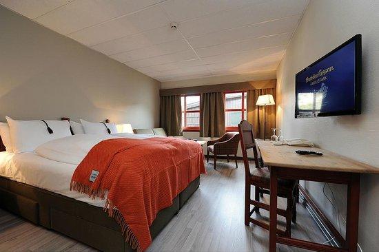 Hunderfossen Hotell & Resort: Våre senger kan settes opp som dobbeltseng eller som twin senger (valgfritt ved booking)