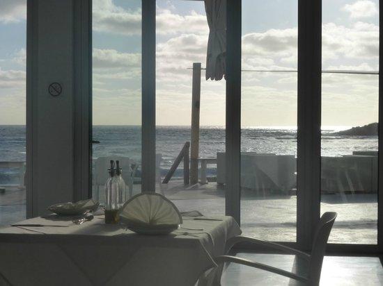 Hotel Tofo Mar: Vista do Restaurante