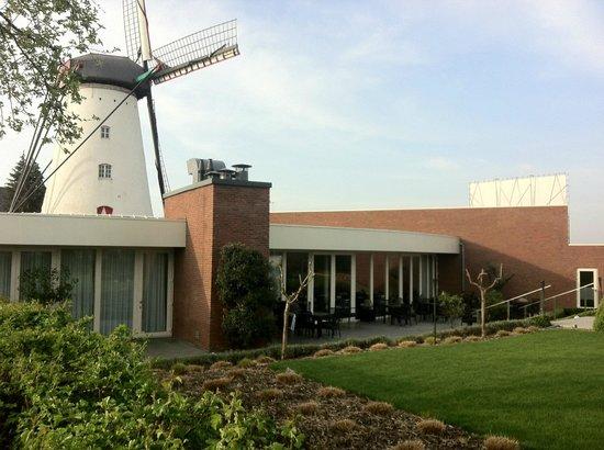 Hotel Al Mulino : Blick von der Terrasse