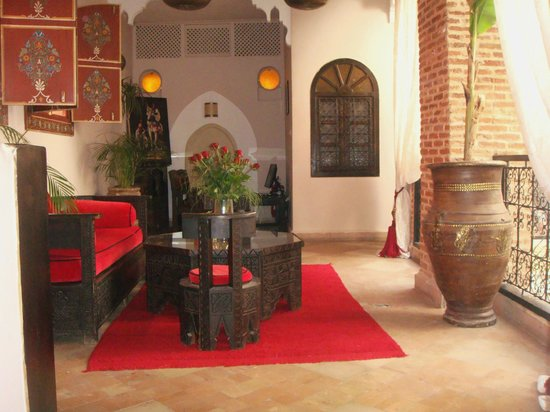 Riad Jona : one of the sitting areas