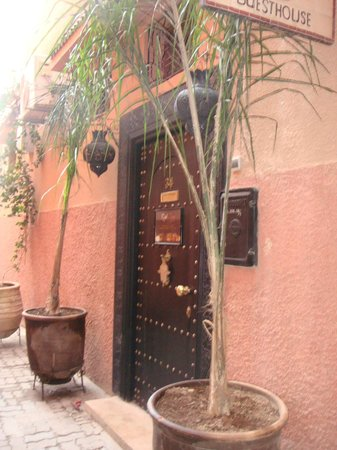 Riad Jona : front door/entrance