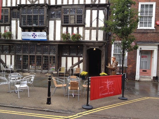 Canterbury Church Shop: Conquest House, Palace Street, Canterbury, Kent