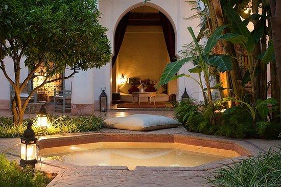 Le Riad Berbère: le patio