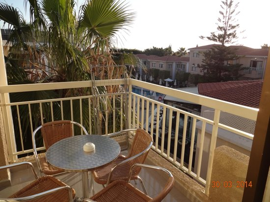The King Jason Paphos: View from Balcony!