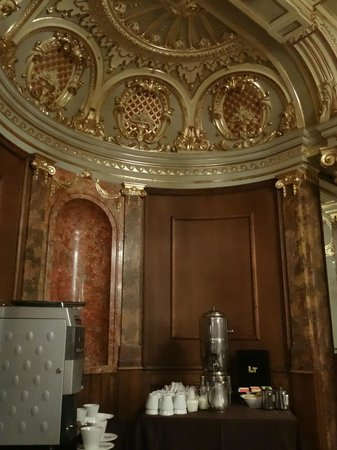Boscolo Budapest, Autograph Collection : Salle petit-déjeuner New York Cafe